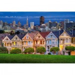 Puzzle   Painted Ladies, San Francisco