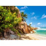 Puzzle   Paradise Beach of Seychelles