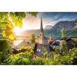 Puzzle   Postcard from Hallstatt