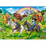 Puzzle   Princess Horse Ride