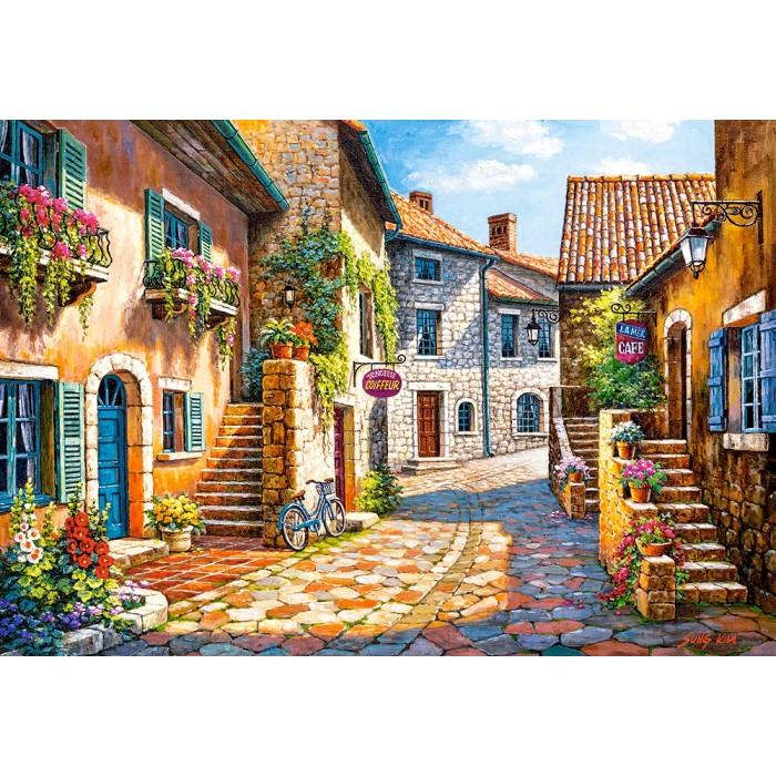 Rue de Village Puzzle 1000 pieces