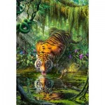 Puzzle   Tiger in the Jungle