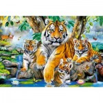 Puzzle   Tigers by the Stream