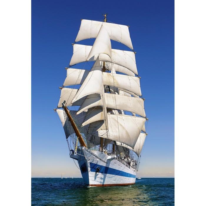 Under Full Sail Puzzle 1000pieces