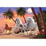 Puzzle   White Horses