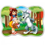 Puzzle   XXL Pieces - The Little Red Riding Hood