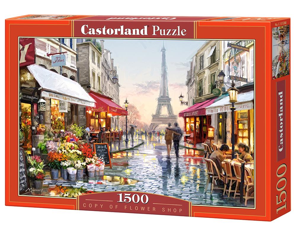 puzzle flower shop castorland 151288 1500 pieces jigsaw. Black Bedroom Furniture Sets. Home Design Ideas