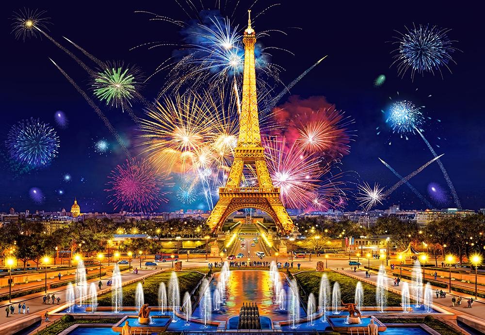 Glamour of the Night, Paris 1000 piece jigsaw puzzle