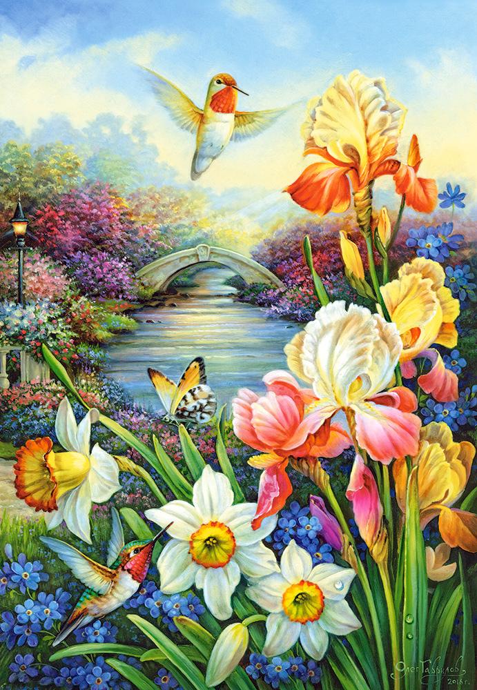 puzzle golden irises castorland151509 1500 pieces jigsaw