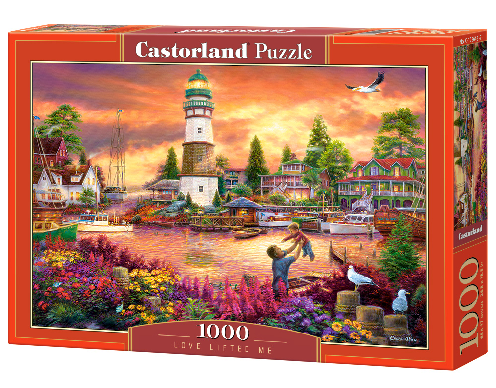puzzle love lifted me castorland103645 1000 pieces jigsaw