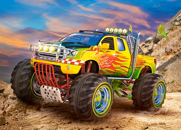 Monster Trucks For Sale >> Puzzle Monster Truck Castorland-27330 260 pieces Jigsaw Puzzles - Cars, Motorcycles and Trucks ...