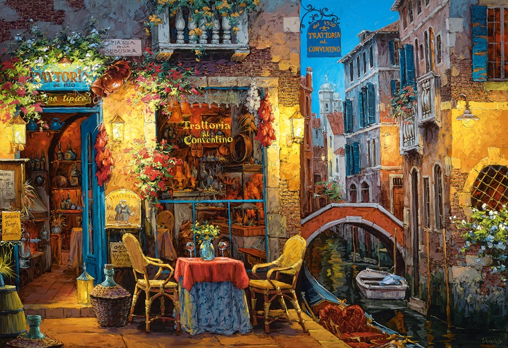 puzzle our special place in venice castorland 300426 3000 pieces