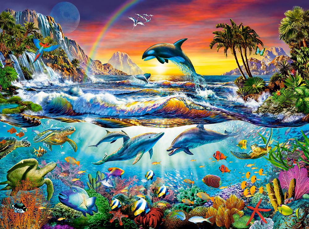 puzzle paradise cove castorland 300396 3000 pieces jigsaw puzzles
