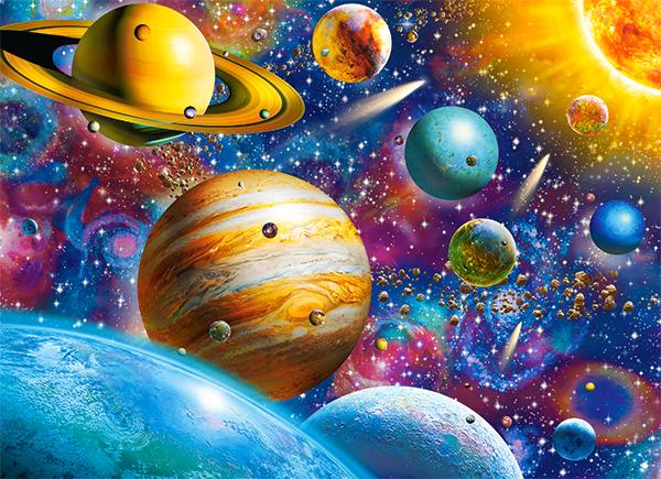 solar system puzzle 100 pieces