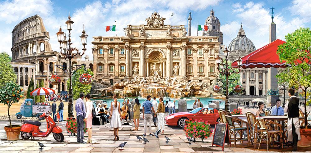 Splendor of Rome -  4000 piece jigsaw puzzle