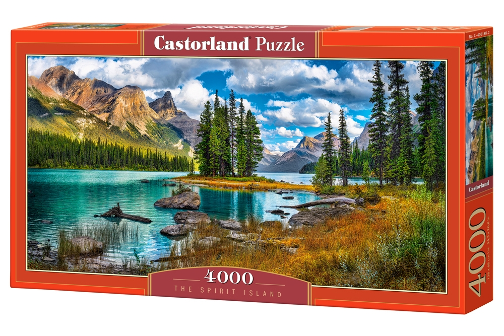 puzzle the spirit island castorland 400188 4000 pieces jigsaw puzzles mountains jigsaw puzzle. Black Bedroom Furniture Sets. Home Design Ideas