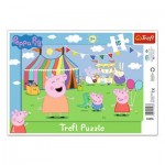 Trefl-31276 Frame Puzzle - Peppa Pig