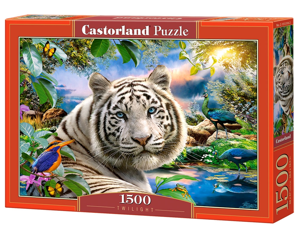 puzzle twilight castorland 151318 1500 pieces jigsaw. Black Bedroom Furniture Sets. Home Design Ideas