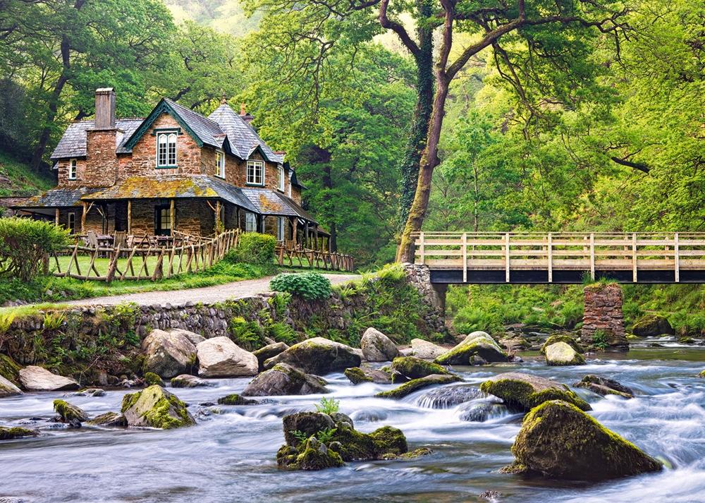 puzzle united kingdom  exmoor national park castorland