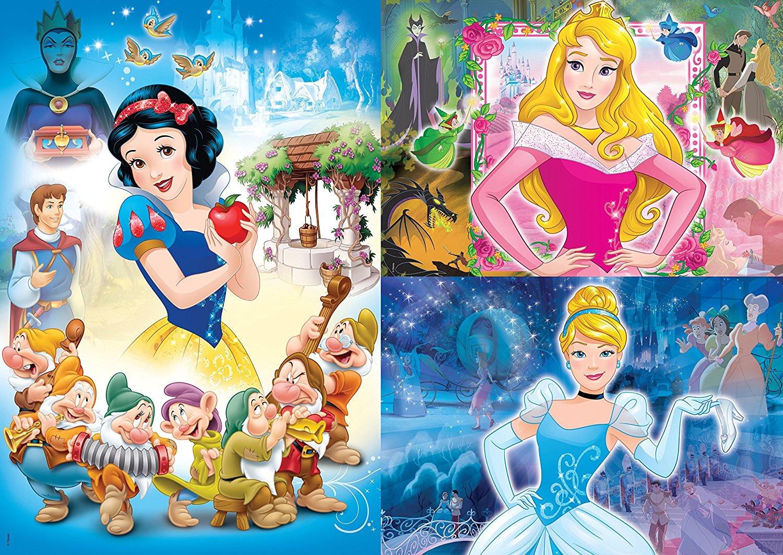 3 Jigsaw Puzzles Disney Princess Clementoni25211 48 pieces Jigsaw