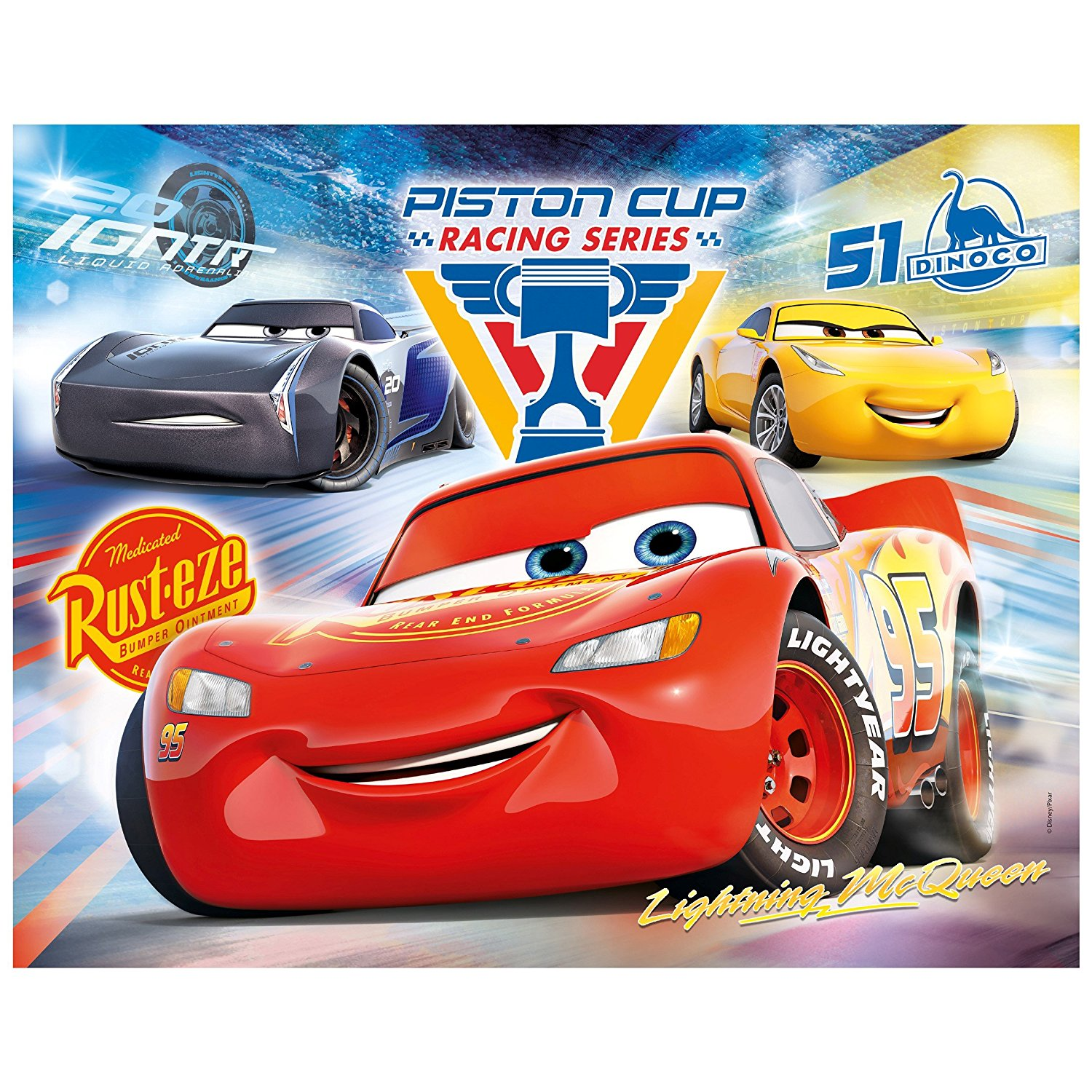 Cars For Sale 5000 >> Puzzle Cars 3 Clementoni-07257 100 pieces Jigsaw Puzzles ...