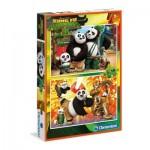 Puzzle  Clementoni-07026 Kung Fu Panda 3