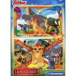 Clementoni-07126 2 Jigsaw Puzzles - The Lion Guard