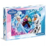 Puzzle  Clementoni-07230 Frozen