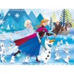 Puzzle  Clementoni-07338 Frozen