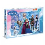 Puzzle  Clementoni-07418 XXL Pieces - Frozen