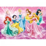 Puzzle  Clementoni-07423 XXL Pieces - Disney Princess