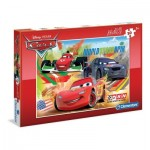 Puzzle  Clementoni-07426 XXL Pieces - Cars