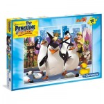 Puzzle  Clementoni-07430 XXL Pieces - The Pinguins of Madagascar