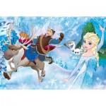Puzzle  Clementoni-07436 XXL Pieces - Frozen