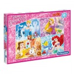 Puzzle  Clementoni-07437 XXL Pieces - Disney Princess