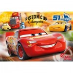 Puzzle  Clementoni-07438 XXL Pieces - Cars