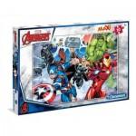 Puzzle  Clementoni-07440 XXL Pieces - Avengers