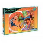 Puzzle  Clementoni-07527 XXL Pieces - Zootropolis