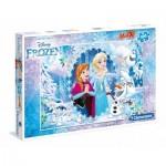 Puzzle  Clementoni-07531 XXL Pieces - Frozen