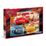 Puzzle  Clementoni-07532 XXL Pieces - Cars 3