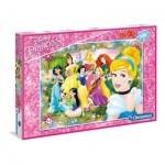 Puzzle  Clementoni-07534 XXL Pieces - Disney Princess