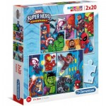2 Puzzles - Marvel Super Heroes