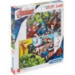 2 Puzzles - The Avengers