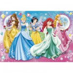 Clementoni-20077 Jigsaw Puzzle - 104 Pieces : Disney Princesses