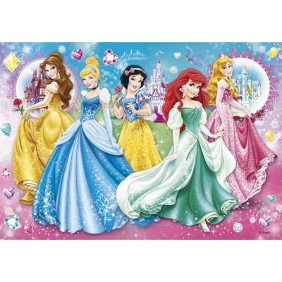Clementoni-20077 Jigsaw Puzzle - 104 Pieces : Disney Princesses
