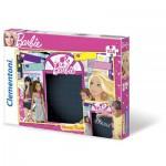Clementoni-20231 Message-Puzzle Barbie