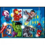 Puzzle  Clementoni-20256 Marvel Avengers