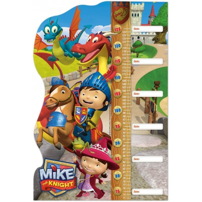Clementoni-20307 Puzzle Double Fun - Mike the Knight