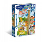 Clementoni-20309 Puzzle Double Fun - Disney Classics
