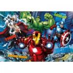 Puzzle  Clementoni-20606 3D Effect - Avengers